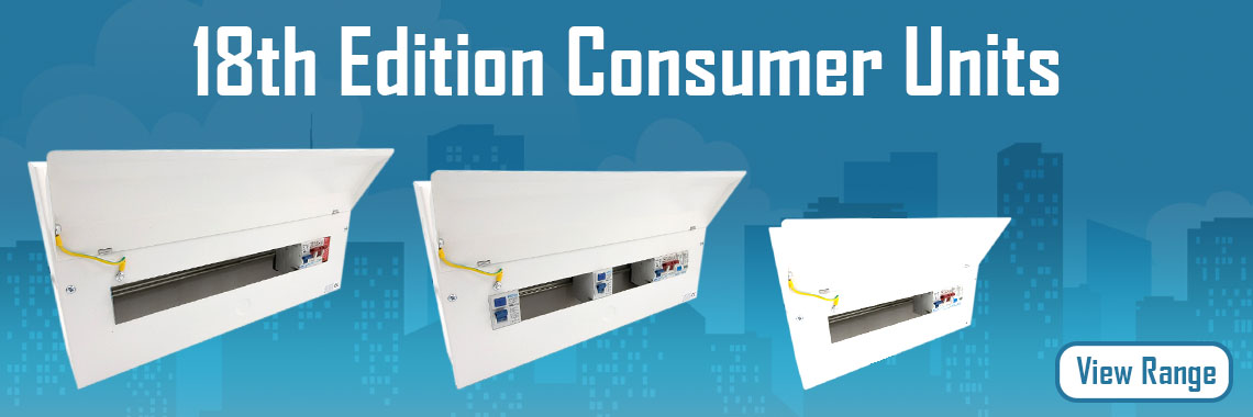 18th Edition Consumer Units With Type 2 Surge Protection