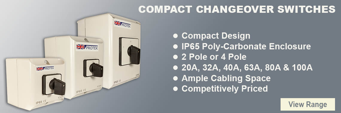 PSCO Compact Changeover Switch Range