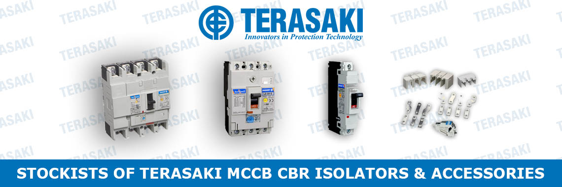 Stockists of Terasaki MCCB CBR Isolators and Accessories