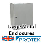 Large Metal Enclosures