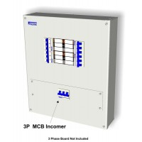 63A 3 Pole MCB Incoming Kit with MCB Cover Plate and Connectors MB363K