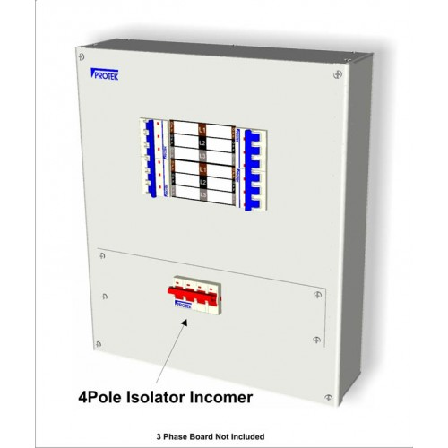 125A 4 Pole Incoming kit With Isolator and Connectors MS4125K