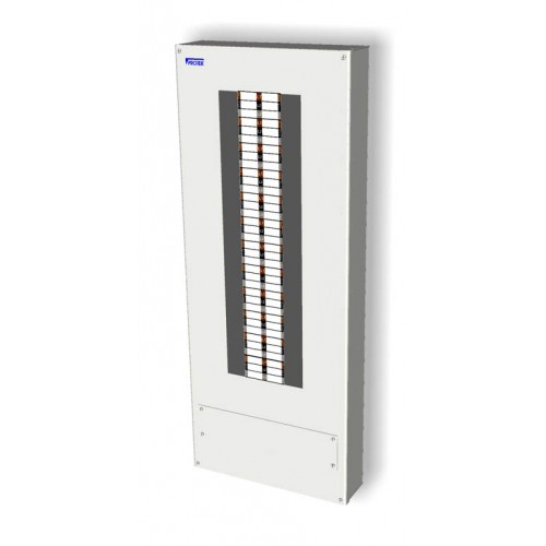 24 Way 3 Phase Board IP65 Insulated Enclosure (125A) TP24IP-125P