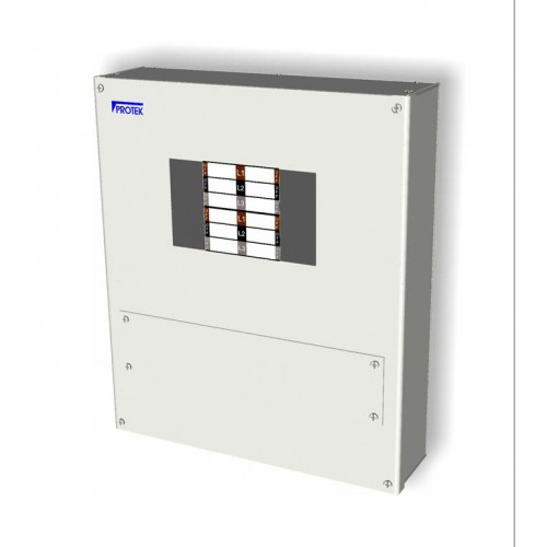 4 Way 3 Phase Board IP65 Insulated Enclosure (125A) TP4IP-125P