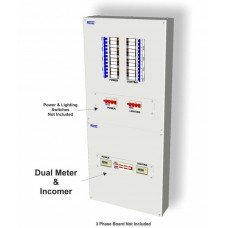 160A Dual Multi-Funtion Meter Pack for B Type Boards with Pulsed/Modbus Output M2-160P
