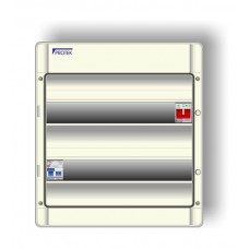 20 Way 16th Edition Insulated IP65 Split Load Consumer Unit With 80A RCD And 100A Isolator P16/20-80/30IP