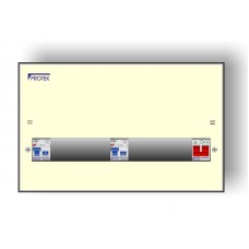 14 Way 17th Edition Amendment 3 Consumer Unit With 100A Isolator and Two 63A 30mA RCDs A3M17/14-63