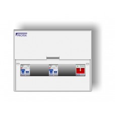 8 Way 17th Edition Insulated Consumer Unit With 100A Isolator And 2 x 63A 30mA RCD A17/8-63