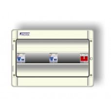 12 Way 17th Edition Consumer Unit With 100A Isolator and 2 x 63A 30mA RCD P17/12-63IP