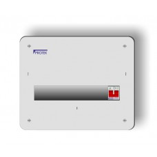 13 Way Metal Flush Fit IP40 Consumer Unit With 100A Switch Incomer MFIS-013