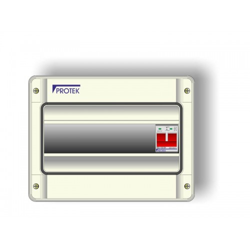 10 Way Insulated IP65 Consumer Unit With 100A Switch Incomer PIS-010IP