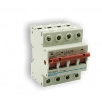 100A 4 Pole 4 Module Isolator Switch ISS-100/4