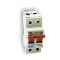100A 2 Pole 2 Module Isolator Switch ISS-100/2