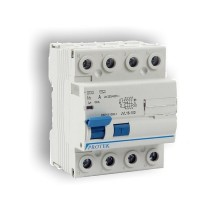 100A 4 Pole 4 Module 100mA Time Delay RCD 100-100-4TD