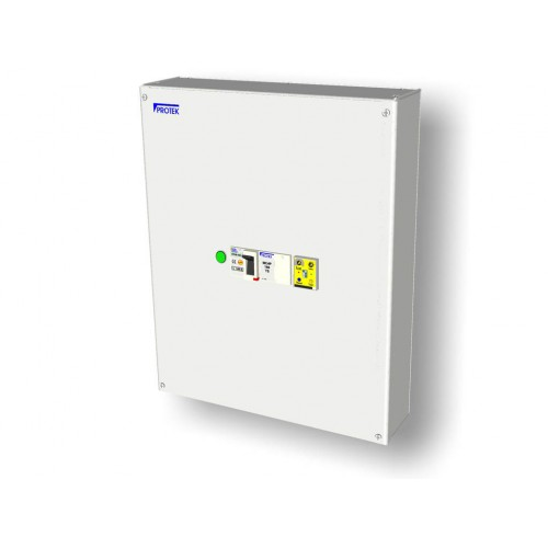Fully Adjustable 125A 3 Phase RCBO with Metal Enclosure RCBO3-125TSM