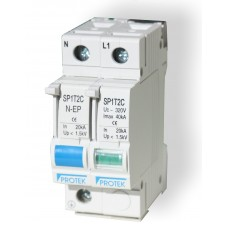 Protek Electronics Single Phase Surge Guard Surge Arrester TNX TNS TT Systems SP2T2