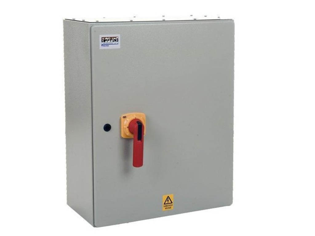 250a 4 Pole Ip65 Metal Rotary Switch Protek Uk Is2504