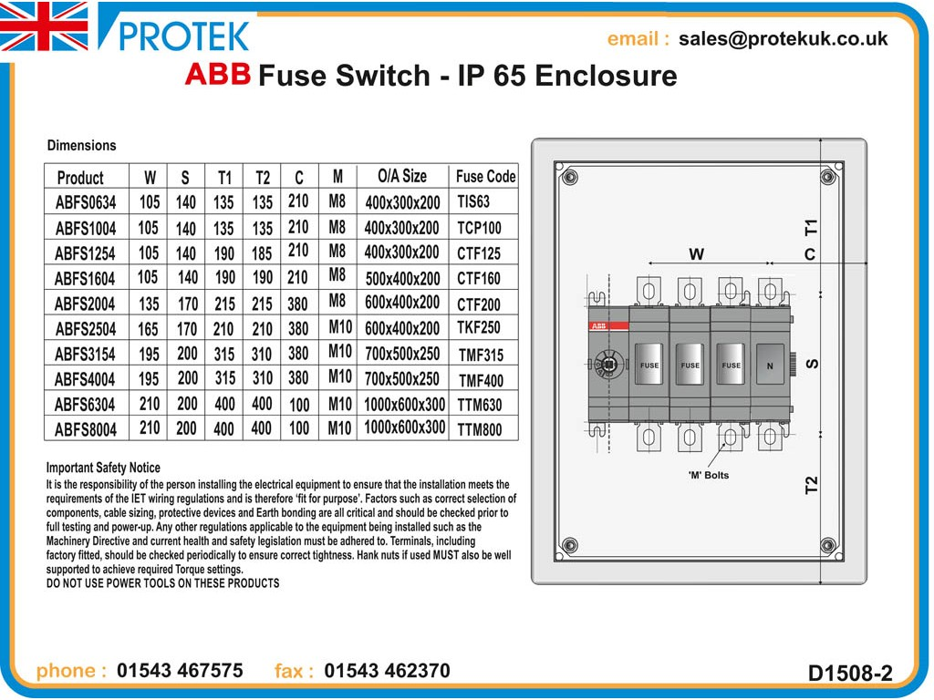 2 Pole Fused Switch Schematic - Wiring Diagram & Electricity Basics ...
